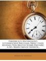 9781270835233 - Matthisson, Friedrich von: V. Matthisson´s Literarischer Nachlass, Nebst Einer Auswahl Briefen Seiner Freunde: -4. Bd. Briefe [seiner Freunde.