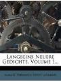 Langbeins Neuere Gedichte (German Edition)