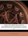 Leben Und Meinungen Auch Seltsamliche Abentheuer Paul Ysops, Eines Reducirten Hofnarren, Volume 1. (German Edition)