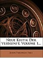 9781274624918 - Jakob Friedrich Fries: Neue Kritik der Vernunft.