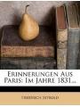 9781279834206 - Seybold, Friedrich: Erinnerungen aus Paris: im Jahr 1831.