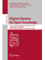 Digital Libraries for Open Knowledge