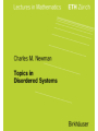 Topics in Disordered Systems
