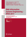 Web Information Systems Engineering – WISE 2017