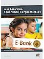 Lese-Leporellos: Spannende Tiergeschichten Kl. 1/2 - 10 anregende Leporellos - zweifach differenziert - Lösungen zur Selbstkontrolle (1. und 2. Klasse)