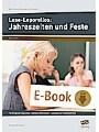 Lese-Leporellos: Jahreszeiten und Feste Kl. 3/4 - 10 anregende Leporellos - zweifach differenziert - Lösungen zur Selbstkontrolle (3. und 4. Klasse)