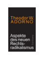 9783518587379 - Adorno: Aspekte des neuen Rechtsradikali