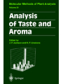 Analysis of Taste Aroma. Molecular Methods of Plant Analysis, Band 21