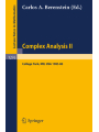 Complex Analysis II
