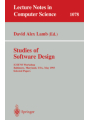 Studies of Software Design
