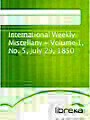 International Weekly Miscellany - Volume 1, No. 5, July 29, 1850