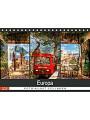 9783672123109 - Carmen Steiner & Matthias Konrad: Europa Foto-Kunst Collagen (Tischkalender 2021 DIN A5 quer) - Kalender