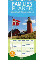 9783672204525 - Stanislaw s Photography: Dänemark Impressionen - Familienplaner hoch (Wandkalender 2021 , 21 cm x 45 cm, hoch) - Kalender