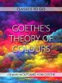 Goethe´s Theory of Colours (eBook, ePUB)