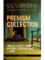 9788026871569 - S.S. Van Dine, Willard Huntington Wright: S.S. VAN DINE Premium Collection: Thriller Classics, Murder Mysteries, Detective Tales & More (Illustrated) - The Benson Murder Case, The Canary Murder Case, The Greene Murder Case, The Bishop Murder Case, The Dragon Murder Case, The Casino Murder Ca