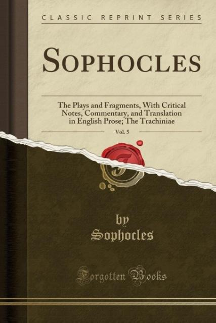 a critical analysis of the play oedipus the king by sophocles