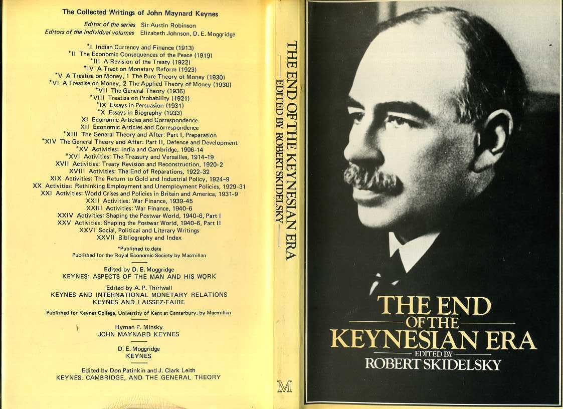 keynes essays The purpose of this paper is to analyze keynes' economic thought critically, how his thoughts have revolutionized macroeconomic thinking and how.